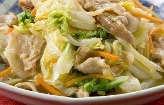 白菜の野菜炒め
