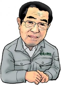 代表取締役秋山勝男