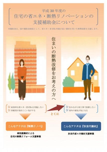 住宅の省エネ・断熱リノベーションの支援補助金について