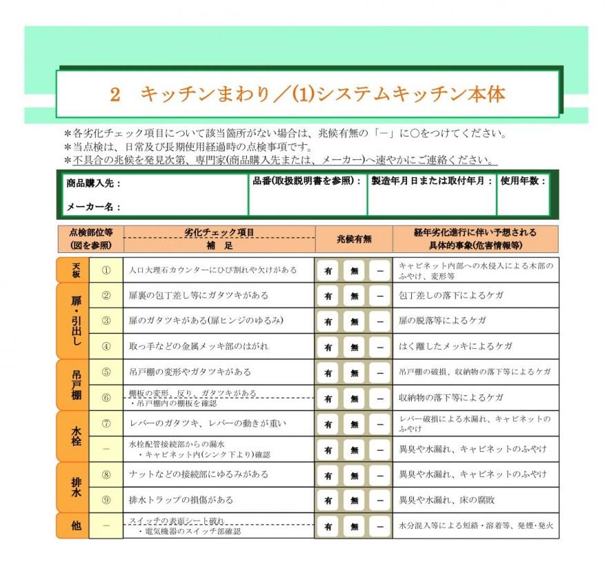 キッチンまわり/システムキッチン本体